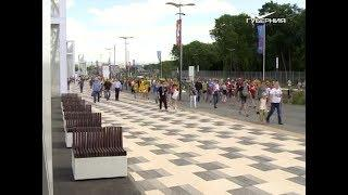 """Матч между Данией и Австралией на """"Самара Арене"""" посетил президент FIFA Джанни Инфантино"""