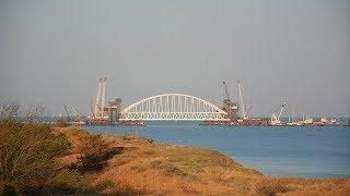 Инфошум. В Украине поблагодарили Россию за строительство Крымского моста