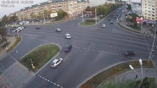 Бульвар-Машерова. ДТП. Брест. 18.09.2018