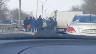 ДТП на Бердском шоссе в Новосибирске
