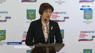 Более 61% избирателей-приморцев приняли участие в выборах президента