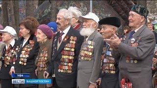 Уфимцы 9 мая установили «Рекорд Победы»
