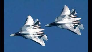 Новости Сирии Су-57 в небе Сирии F-22 спасаются бегством