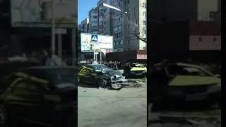 ДТП на перекрёстке в Ставрополе