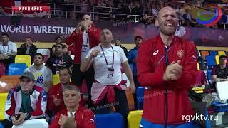 Сборная России по греко-римской борьбе завоевала 1 место на чемпионате Европы