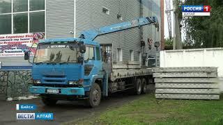 «Состояние – ужасное»: в Бийске подрядчик приступил к ремонту бассейна «Дельфин»