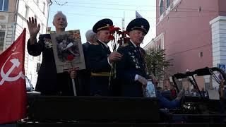 Ветераны на Бессмертном полку в Твери