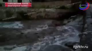 Ливни размыли дорогу в Тляратинском районе республики