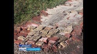 Тротуар из мусора и битого кирпича: почему многодетным дают землю без дорог