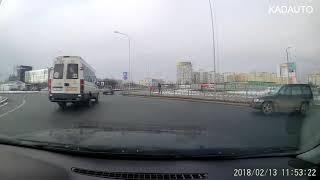 ДТП на кольце. Сельма в Калининграде. Классика. 13.02.18