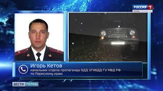 Четверо пострадавших: в Пермском крае водитель сбил семью
