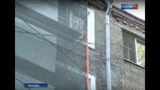 После укрепления грунта в ростовской многоэтажке треснула несущая стена
