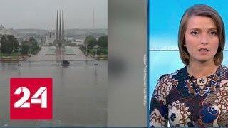 """Погода 24"": на Санкт-Петебург движется циклон с дождями - Россия 24"