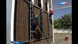 В Ростове соревнуются юные пожарные