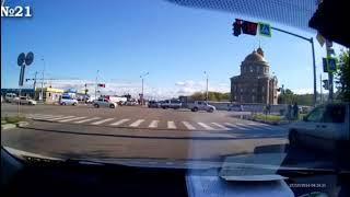 Жесткое ДТП Новотроицкое шоссе — Текстильная. Момент удара ч. 2.