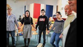 Армянская семья нашла убежище в церкви