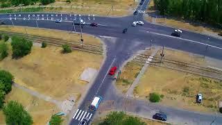 ДТП (авария г. Волжский) ул. Пушкина ул. Александрова 04-07-2018 13-21
