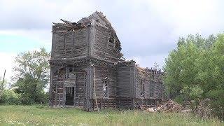 В селе Луньгинский Майдан рухнул купол одного из старейших храмов Мордовии