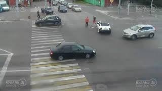 ДТП на ул. Красных Партизан и ул. 2-я линия 22.07.2018