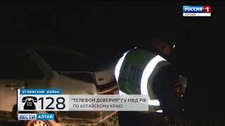 На Алтае пьяный водитель заснул за рулём и чудом остался жив