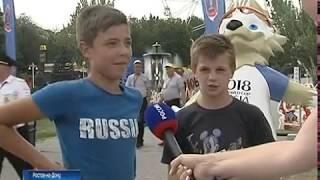 Из-за аномальной жары ростовская фан-зона опустела