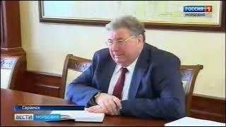 Владимир Волков провел рабочую встречу с Митрополитом Саранским и Мордовским Зиновием