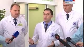 Закончен ремонт кардиохирургического отделения областной клинической больницы (ГТРК Вятка)