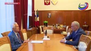 Врио главы Дагестана встретился с заместителем руководителя Администрации президента РФ