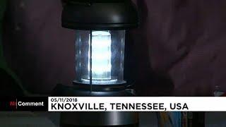 США: избиратели в Ноксвилле голосовали в темноте