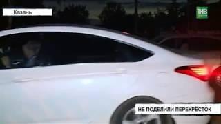 Две Лады не поделили перекрёсток улиц Карагандинская и Ударная - ТНВ