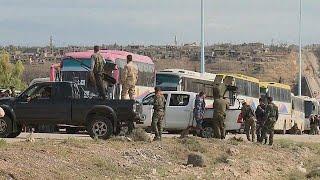 Сирия: боевики сложили оружие