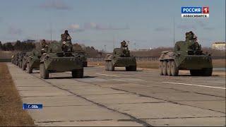 В Новосибирске начали подготовку к Параду Победы