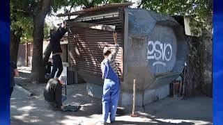 Незаконные торговые объекты сносят в Симферополе
