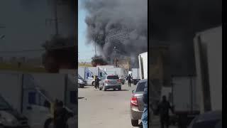Пожар на Южном рынке 2