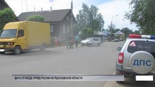 В Угличе в ДТП пострадал ребенок