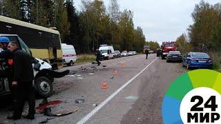 В Тверской области объявлен двухдневный траур по погибшим в ДТП - МИР 24