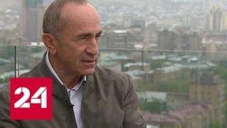 Роберт Кочарян: в Армении и Карабахе поверили в перестройку и гласность - Россия 24