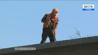 Строительство моста через Кроуновку подходит к концу