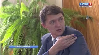 Губернатор посетил Барышский район