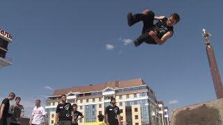 В Ставрополе уличные спортсмены поставили рекорд России