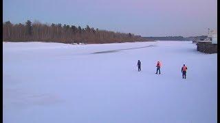 В Белоярском районе успешно завершилась операция по спасению рыбака