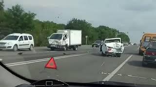 Авария на выезде из Ставрополя