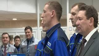 Владимир Путин принял в Кремле донских сварщиков