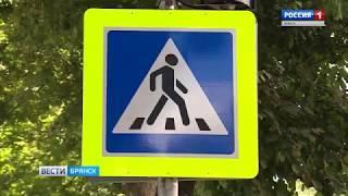 У школ Брянска проверяют пешеходные переходы