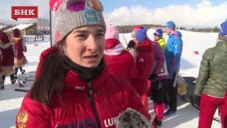 Наталья Непряева - Чемпионат России по лыжным гонкам 2018 года