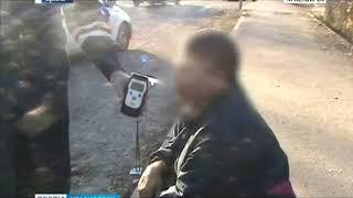 Жителя Лесосибирска в пятый раз поймали пьяным за рулем