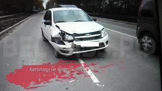 Две автоледи не поделили дорогу в Вологде: есть пострадавший