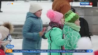 Перенос главной ёлки Барнаула с площади Сахарова разгрузит центр города от пробок