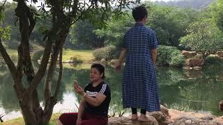 Китайский дневник: часть 4 - поющие у пруда у горы Цинсю в городе Наньнин