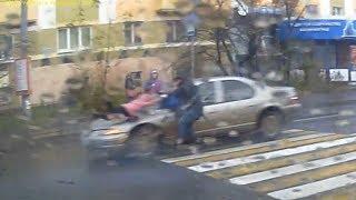 На пешеходном переходе сбили 5-летнюю девочку 15.11.17